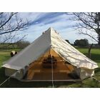5M 6M Outdoor Cotton / Waterproof Canvas Bell Tent Hunting Glamping Camping Tent