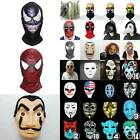Halloween+Cosplay+Mask+Fancy+Dress+Full+Face+Spider-man+Clown+Mask+Costume+Props