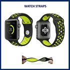 STRAPS+FOR+APPLE+WATCH+REPLICA+NIKE+STRAPS+BLACK+GREEN+HIGH+QUALITY