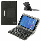 For 9.7/10.1/ 10.2inch Tab Universal Folio Leather Case Slim Wireless Keyboard