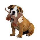 Dog Chew Toys with Squeaker for Puppies Teething, Corduroy Dog Toys - Monkey/