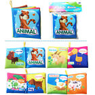 Soft Cloth Book Gift Interactive Number Animals Books For Newborn Baby Toys