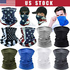 Cool Neck Gaiter Balaclava Bandana Tube Scarf Half Face Mask Reusable Washable