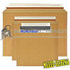 STRONG CARDBOARD RIGID MAILERS ENVELOPES WITH PEEL SEAL & RIPPA STRIPS ALL SIZES