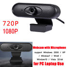 720P/1080P USB Web Camera Video Recording Webcam with Microphone for PC Laptop