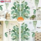 Tropical Leaves Green Plant Wall Stickers,pvc Decal Nursery Art Mural Home_decor