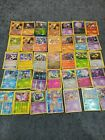 Assorted Pokemon Cards Old and New. Most are foil or reverse foil.
