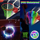 Glow In The Dark Basketball Hoop Net Light Solar Strip Light Shooting Training