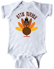 inktastic Little Turkey Thanksgiving Infant Creeper Outfit Holiday For Baby