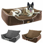 All Season Durable Large Dog Bed Orthopedic Calming Pet Couch Bed Washable Cover