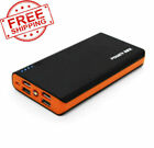 900000mAh Power Bank LCD LED Charger for Cell Phone Pack 4USB External Portable