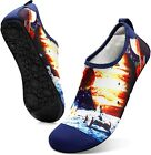 FEETCITY Mens Water Shoes Women Aqua Socks Quick-Dry Beach Surf Swim Shoe Barefo