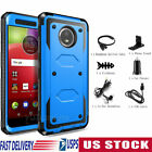 For Motorola Moto E4 Plus E4 G5 Case Shockproof Hybrid Rugged Cover +Accessories