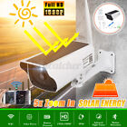 HD Solar Power WiFi IP Outdoor Home Security Clear Camera Night-Vision Wireless