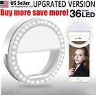 1 - 50 Lot Wholesale Selfie Portable LED Ring Fill Light Camera for Phone USA