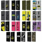 OFFICIAL BATMAN DC COMICS LOGOS LEATHER BOOK WALLET CASE FOR BLACKBERRY ONEPLUS