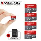 256/128GB Memory SD Card TF Flash Micro Card Fast C10 &Adapter&Phone&Car&Camera