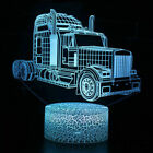 LED 3D Car Series Night Light Color Change Remote Touch Control Table Desk Lamp