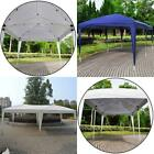 10'x20' Folding EZ Pop UP Wedding Party Tent Gazebo Canopy Heavy Duty/ Carry Cas