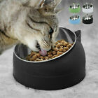 Anti-Vomiting Orthopedic Pet Bowl Non-slip Tilt Pet Cat Dog Food Water Feeder