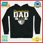 Promoted To Dad Est 2020 Face Mask Quarantine Father Day Gift Ideas TShirt Hoodi