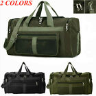 'Duffle Gym Bag Large Sports Holdall Canvas Bags Cabin Mens Travel Luggage New