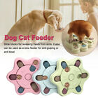 Interactive Dog Cat Food Feeder Pet  Activity Toys Training Games Bowl UK