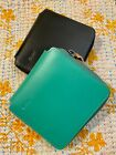 Ally Capellino UK British Designer AXEL Leather Zip Round Leather Card Wallet