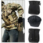 Tactical Military Airsoft Hunting Molle Belt Magazine Dump Drop Pouch Bag
