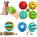 Pet Puzzle Toy Food Dispenser Tough-Treat Ball Dog Interactive Puppy Play Toy UK
