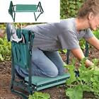 Outdoors Garden Kneeler and Seat Foldable Stool w/Tool Pouch EVA Foam Pad