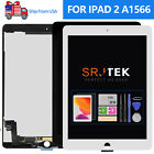 For iPad 6 Air 2 Screen Replacement A1566 A1567 LCD Display Touch Digitizer