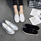 Casual+Leather+Women%27s+Loafer+Flats+Shoes+Ladies+Plus+Size+Lazy+Autumn+Slip-On