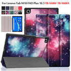 "For Lenovo Tab M10 FHD Plus TB-X606F TB-X606X 10.3"" 2020 PU Leather Case Cover"