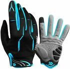 Full Finger Gloves, Mountain Bike Gloves Fox Gel Padded Road Breathable for Men