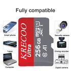 256GB/128GB/64GB microSDXC Memory Card 325MB/S Class 10 TF for Phone Camera Car