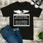 This Is My Gun Permit USA Second Amendment T-Shirt, Gun Lover Shirt
