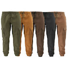 Внешний вид - Men's Casual Athletic Cotton Joggers Gym Workout Elastic Waist Cargo Pants