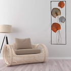 Wall Hanging Sculpture Metal Wall Art Flower And Leaves Home Decor Collection