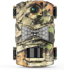 Trail Camera, Waterproof 16MP 1080P Hunting Game Camera, Wildlife Camera with IR