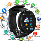 Heart Rate Monitor Smart Watch Blood Oxygen Fitness Tracker IP65 For Android iOS