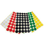 Multicolor Blank Dot Labels Round Natural Paper Sticker, Label Sticker