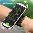 Cell Phone Sports WristBand Running Jogging Bag Cover 180  Rotating Holder w