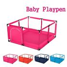 4Color Foldable Baby Playpen Kids Safety Home Pen Fence Play Center Yard