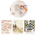 A4 Premium SKETCH BOOK Paper Pad Spiral Rings Kids Adults Painting Notebook Draw