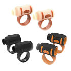 Non-Slip Drumstick Control Clip Grips Sleeves Twirling Spin Controller Accessory