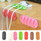 1pc Home Mouse Line Cable Desktop Clip Fixed Clamp Data Line Holder Storage
