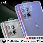 IMAK For Motorola One 5G Ace Camera Lens REAL Tempered Glass Protector 2 Pack