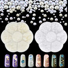 5600pcs Assorted Half Artificial ABS Pearls Jewelry Round DIY Craft Beads Decor
