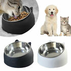 Pets Stainless Steel Pet Bowls Bella Dog Cat Food Water Feeding Dish Feeder Pots